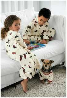 the company store dog pajamas product review fido friendly. Black Bedroom Furniture Sets. Home Design Ideas