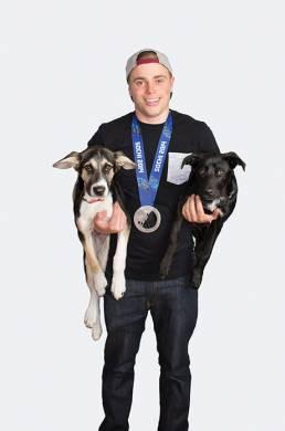 Medalist Gus Kenworthy