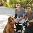 Brandon McMillan trains service dogs for wounded veterans