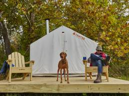 Tentrr Provides Comforts of Home in the Great Outdoors
