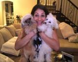 Pet Rescue Expert Larissa Wohl with 2 dogs